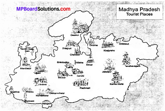 MP Board Class 9th Social Science Solutions Chapter 8 Map Reading and Numbering - 6 - Copy