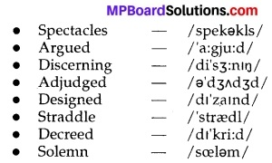 Report Of An Adjudged Case MP Board Class 10th English