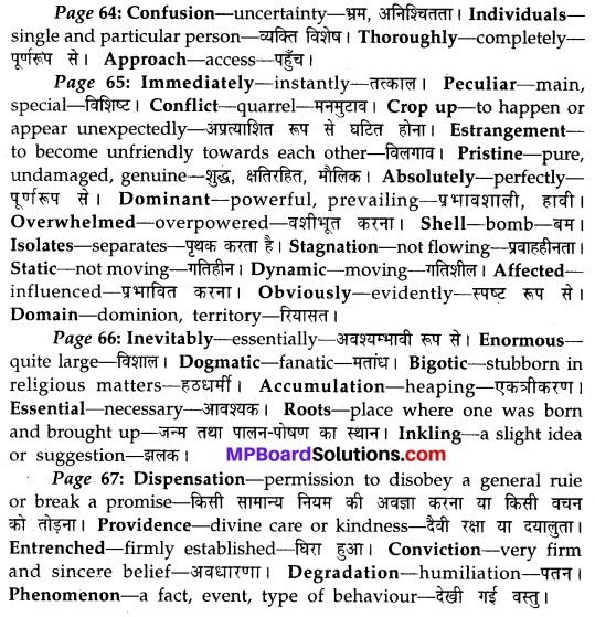 MP Board Class 10th English The Rainbow Solutions Chapter 8 What is Culture 2