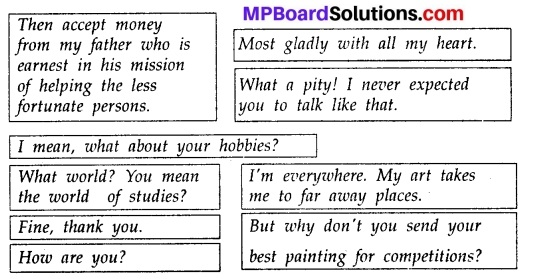 MP Board Class 10th English The Rainbow Workbook Solutions Chapter 10 The Last Leaf 1