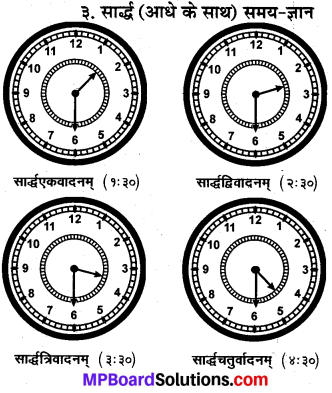 MP Board Class 10th Sanskrit व्याकरण समय ज्ञान-प्रकरण img 6