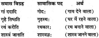 Class 10th Sanskrit Samas MP Board