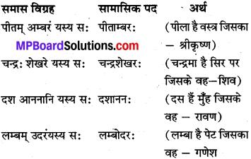 Class 10 Sanskrit Samas MP Board