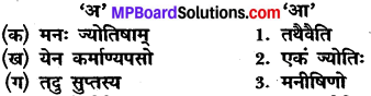 Class 10 Sanskrit Chapter 1 MP Board
