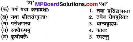 Mp Board Class 10 Sanskrit Chapter 10