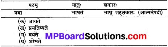 Mp Board Class 10 Sanskrit Chapter 11