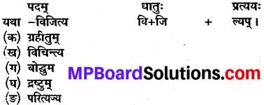 Class 10 Sanskrit Chapter 11 Question Answer