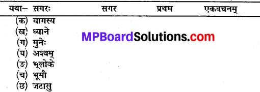 कक्षा 10 संस्कृत पाठ 15 MP Board