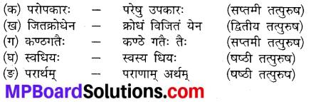 Mp Board Class 10th Sanskrit Chapter 21