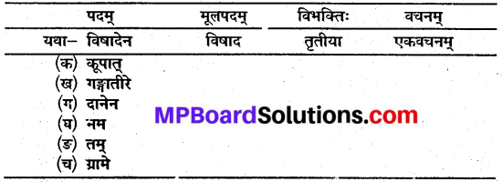 MP Board Class 10th Sanskrit Solutions Chapter 6 यशः शरीरम् img 2