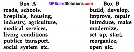 MP Board Class 11th English A Voyage Workbook Solutions Unit 2 Grammar 11