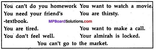 MP Board Class 11th English A Voyage Workbook Solutions Unit 2 Grammar 3