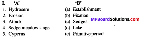 MP Board Class 12th Biology Solutions Chapter 13 Organisms And Population 11