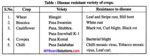 MP Board Class 12th Biology Solutions Chapter 9 Strategies for Enhancement in Food Production 5