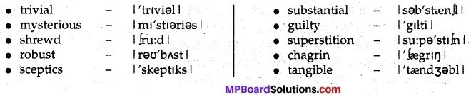 MP Board Class 12th English A Voyage Solutions Chapter 18 The Abominable Snowman img 6