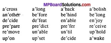MP Board Class 12th English The Spectrum Workbook Solutions Chapter 1 Teach Me to Listen, Lord img 1