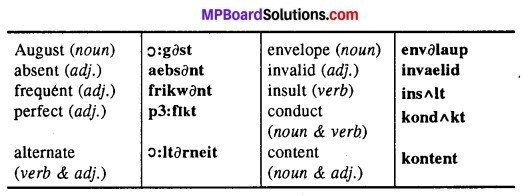 MP Board Class 12th English The Spectrum Workbook Solutions Chapter 1 Teach Me to Listen, Lord img 2