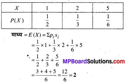 MP Board Class 12th Maths Book Solutions Chapter 13 प्रायिकता Ex 13.4 img 30