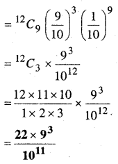 MP Board Class 12th Maths Book Solutions Chapter 13 प्रायिकता Ex 13.5 img 12
