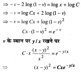 MP Board Class 12th Maths Book Solutions Chapter 9 अवकल समीकरण Ex 9.5 img 2