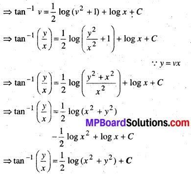 MP Board Class 12th Maths Book Solutions Chapter 9 अवकल समीकरण Ex 9.5 img 5