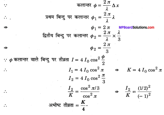 MP Board Class 12th Physics Solutions Chapter 10 तरंग-प्रकाशिकी img 2