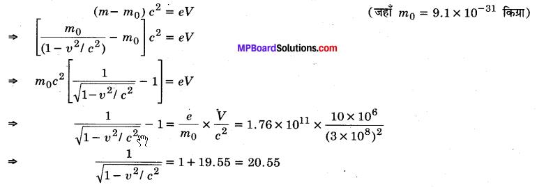 MP Board Class 12th Physics Solutions Chapter 11 विकिरण तथा द्रव्य की द्वैत प्रकृति img 11