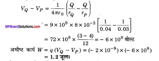 MP Board Class 12th Physics Solutions Chapter 2 स्थिरवैद्युत विभव तथा धारिता img 12