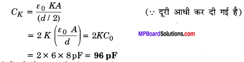 MP Board Class 12th Physics Solutions Chapter 2 स्थिरवैद्युत विभव तथा धारिता img 5