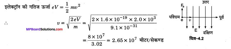 MP Board Class 12th Physics Solutions Chapter 4 गतिमान आवेश और चुम्बकत्व img 14