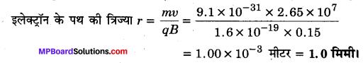 MP Board Class 12th Physics Solutions Chapter 4 गतिमान आवेश और चुम्बकत्व img 15