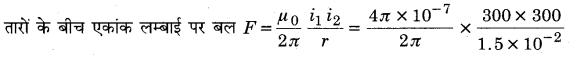 MP Board Class 12th Physics Solutions Chapter 4 गतिमान आवेश और चुम्बकत्व img 19