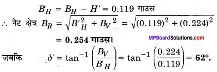 MP Board Class 12th Physics Solutions Chapter 5 चुम्बकत्व एवं द्रव्य img 10