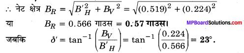 MP Board Class 12th Physics Solutions Chapter 5 चुम्बकत्व एवं द्रव्य img 11