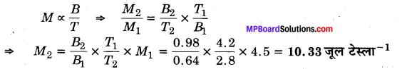 MP Board Class 12th Physics Solutions Chapter 5 चुम्बकत्व एवं द्रव्य img 16