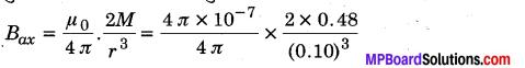 MP Board Class 12th Physics Solutions Chapter 5 चुम्बकत्व एवं द्रव्य img 4
