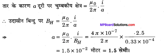 MP Board Class 12th Physics Solutions Chapter 5 चुम्बकत्व एवं द्रव्य img 8