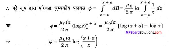 MP Board Class 12th Physics Solutions Chapter 6 वैद्युत चुम्बकीय प्रेरण img 16