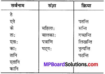 MP Board Class 6th Sanskrit Solutions Chapter 3 सर्वनामशब्दाः 18