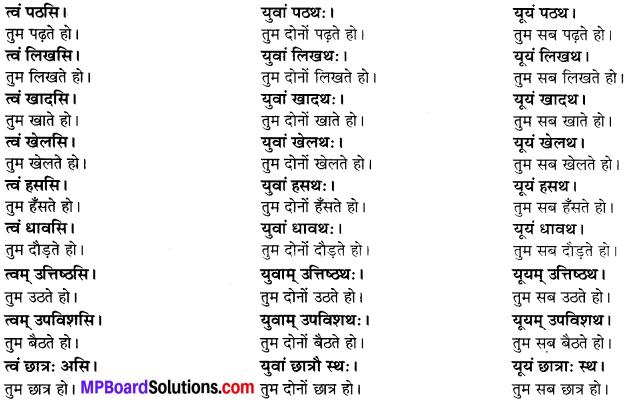MP Board Class 6th Sanskrit Solutions Chapter 3 सर्वनामशब्दाः 24