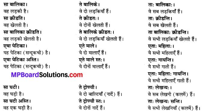 MP Board Class 6th Sanskrit Solutions Chapter 3 सर्वनामशब्दाः 9