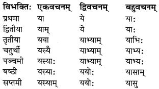 MP Board Class 7th Sanskrit व्याकरण-खण्डः img 12