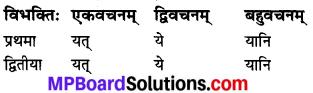 MP Board Class 7th Sanskrit व्याकरण-खण्डः img 13