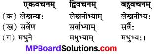 MP Board Class 7th Sanskrit Model Question Paper img 1