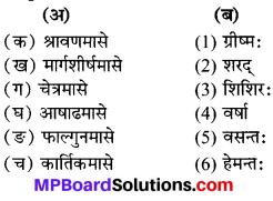 कति ऋतवः भवन्ति Answer MP Board Class 7th