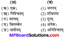 Mp Board Class 7 Sanskrit Chapter 3