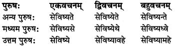 MP Board Class 8th Sanskrit व्याकरण-खण्डः 45