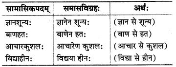 MP Board Class 8th Sanskrit व्याकरण-खण्डः 52
