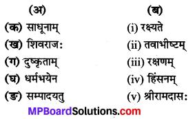 Class 8th Sanskrit Chapter 14 Solution