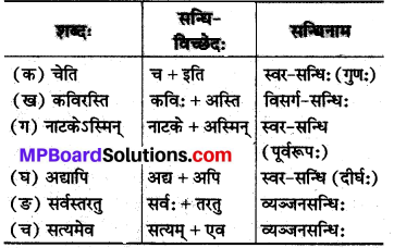 Mp Board Class 8 Sanskrit Solution